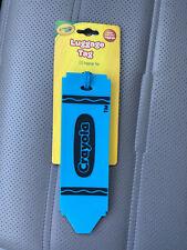 Crayola Luggage Tag Blue