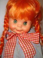 FURGA TERESA BAMBOLA CAPELLI ROSSI PRIMO TIPO ANNI 60 Italy doll poupee toy