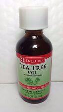DE LA CRUZ TEA TREE OIL 2 FL OZ NEW ACEITE DE ARBOL DE TE 59 ML MADE IN USA NEW