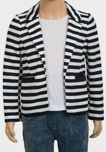Girls Stripe Blazer ( fits 11/12 Years )
