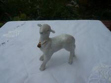 Altes antikes Lamm aus Porzellan Qualität Markenporzellan hochwertig Goldglocke