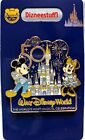 Walt Disney World Parks 50th Anniversary Mickey & Minnie Cinderella Castle Pin