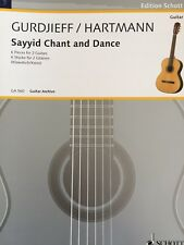 Gurdjieff & Hartmann-sayed Chant and dance - 6 trozos para 2 guitarras