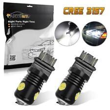2X White 3157 22.5W Reverse Backup LED Light Bulb 3156 3057 3457 6000k White