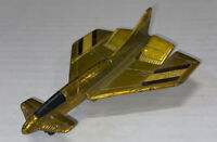 C08 Vintage Mattel Hot Wheels Redline Era Hot Birds Yellow Regal Eagle Airplane