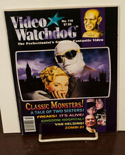VIDEO WATCHDOG ISSUE #118 CLASSIC MONSTERS-KINGDOM HOSPITAL-ZOMBI 2 NM/MINT