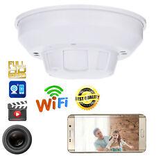 WiFi 1080P HD SPY DVR Hidden IP Camera Smoke Detector Motion Detection Nanny Cam