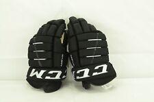 New listing Ccm 4R Lite Pro Ice Hockey Gloves Senior Size 14/15 Black/White (1203-1342)