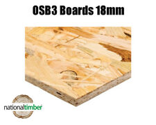 18mm OSB 3 Boards Sheets 8ft x 4ft 8 x 4