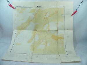 NÉDÉLEY TCHAD 1958 1:200.000 Ancienne carte d'Afrique A.E.F & Cameroun IGN