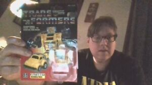 1985 Bumblebee Card w/Bubble intact. Opened from back. Hasbro.
