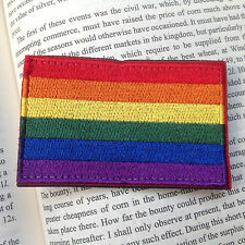 TACTICAL  RAINBOW 3D  Flag AIRSOFT MILSPEC EMBROIDERED HOOK&LOOP PATCH