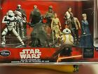 DISNEY STORE Star Wars the Force Awakens 10 Deluxe Figurine Sealed Set