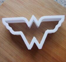 Wonder Woman Logo Masita Cortador Galleta Pastelería Fondant Stencil héroe de Comic Dc