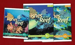 2010 Australia Fishes of the Reef Booklet Set 3 SG SB 350/2