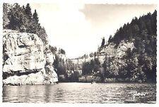 CPSM PF 25 - VILLERS LE LAC (Doubs) - 270.  Bassins du Doubs et Rocher de l'echo