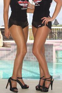 HOOTERS Uniform Costume Cosplay Dress Up Hosiery PICK Color & Size A B C D Q XL