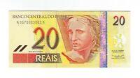 20 Reais Brasilien UNC 2002 C302 / P.250a -  Brazil Banknote