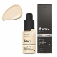 The Ordinary Coverage Foundation 1.0NS Very Fair -Neutral with Silver Highlights