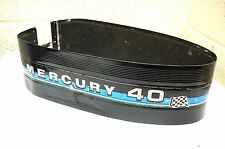 MERCURY 40hp (402) OUTBOARD ENGINE HOOD CENTRE BAND - EARLY 80's