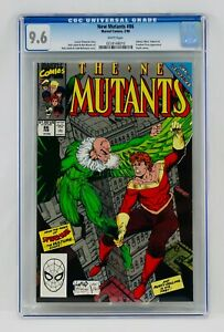 New Mutants #86 CGC 9.6 White Pages Todd McFarlane & Rob Liefeld Cover Key NM+