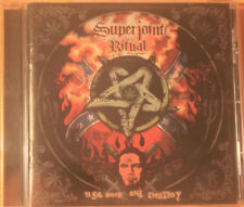 Superjoint Ritual ‎– Use Once And Destroy  NEW MINT SEALED, CD with Booklet