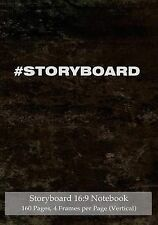 Storyboard 16:9 Notebook 160 Pages 4 Frames per Page (Vertical): Ideal journal t