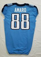 #88 Jace Amaro of Tennessee Titans NFL Locker Room Game Issued Jersey
