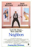 NEIGHBORS MOVIE POSTER  Original SS 27x41 ROLLED Advance Style JOHN BELUSHI 1981