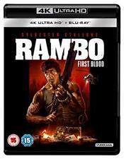 Rambo: First Blood 4K [Blu-ray] [2018] [DVD][Region 2]