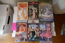 Lot 7 Classic Musicals VHS 1940s- Cagney,Faye,Grable,Astaire