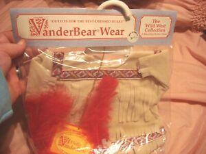 VanderBear Wear Fluffy VanderBear Wild West Collection Pawcahontas Desert Beauty