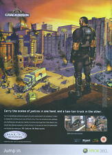 Crackdown Xbox 360 2007 Magazine Advert #975