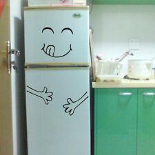Cute Sticker Fridge Decor Happy Delicious Face Kitchen Fridge Wall Stickers Art