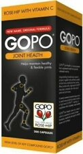 GOPO Joint Health Rose-hip with Vitamin C (200 Capsules) x 3 BUNDLE