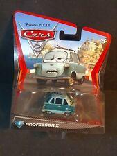 "Disney Pixar Cars 2 ""Professor Z"" #6 Mattel Diecast Movie Vehicle MOC 2010"