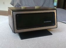 Vintage MCM 1970s Micronta Mini Alarm Clock Green LED Tandy Excellent Condition!