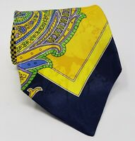 Cravatta Versus Gianni Versace 100% pura seta tie silk original made in italy