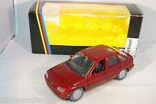 SCHABAK 1525 FORD ESCORT METALLIC MAROON MINT BOXED