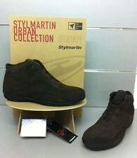 SCARPA MOTO STYLMARTYN  SIDNEY  LOW  BROWN 44