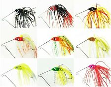 5x Bass Yellowbelly Cod  Spinner Bait Baits Fishing Lures 1/2oz Color Random