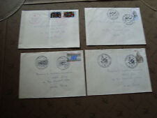 FRANCE - 4 enveloppes 1981 (cy16) french (E)