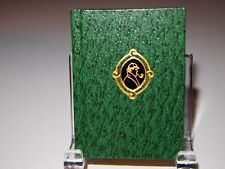 """1984  """"A Case of Identity """" (HOLMES) printed by Black Cat Press miniature books"""