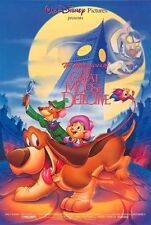 GREAT MOUSE DETECTIVE - R91 -Orig 27x40 D/S movie poster- DISNEY - VINCENT PRICE