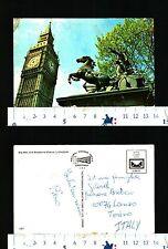 LONDRA - INGHILTERRA - VEDUTA DEL BIG BEN E DELLA STATUA DI BOADICEA - 50305