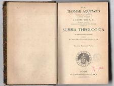 divi.thomae aquinatis summa theologica - volume tertium forzani secunda sec.part