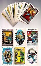 1988 THE WORLD of SPIDER-MAN sticker SINGLES by Comic Images - RARE