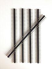 5x Stiftleiste 2 mm | 40 Pins | RM Rastermaß 2mm