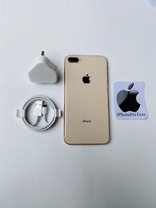 Apple iPhone 8 Plus - 256GB - Gold-  (Unlocked) - A1864 - MINT - Ref 53