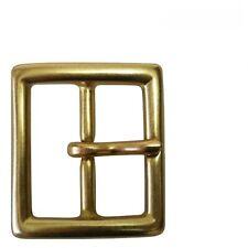 "New Solid Brass Belt Buckle Square Fits 1.375/"" Wide Belt"